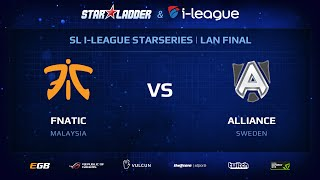 Fnatic vs Alliance , StarSeries 13 LAN-Final, Day 1