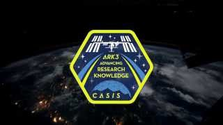 CASIS | ARK3 Mission Patch Designed by Seth Green