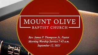 7:45 AM Sunday Worship Service