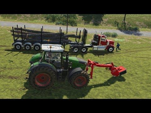 AUTOLOADER [MOD] | Farming Simulator 19 - смотреть онлайн на