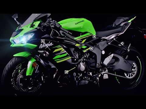 2021 Kawasaki Ninja ZX-6R in Bear, Delaware - Video 1