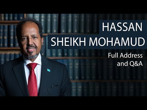 President Hassan Sheikh Mohamud | Full Address and Q&A | Oxford Union