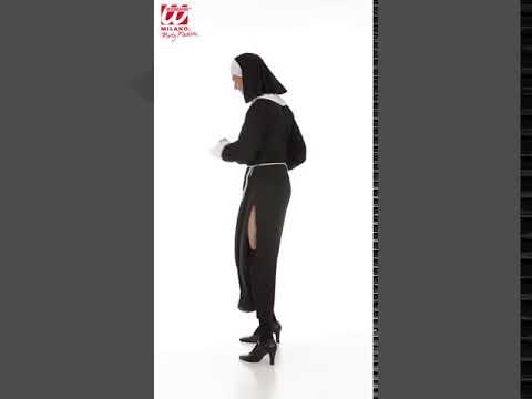 3920   Nonnen Kostüm für Männer