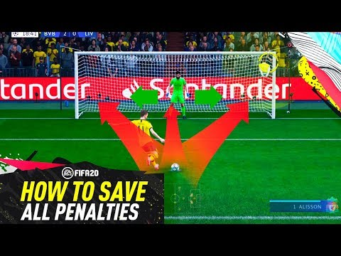 FIFA 20 SAVE ALL PENALTY KICKS TUTORIAL! 100% WORKING TRICK TO DEFEND PENALTIES