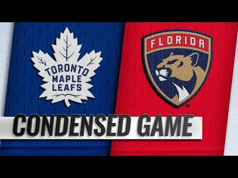 01/18/19 Condensed Game: Maple Leafs @ Panthers