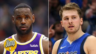 Luka Doncic joined a club only LeBron was in, showing anything is possible in the NBA | The Jump