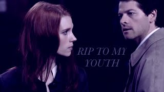 Castiel & Anna - R.I.P. to my youth