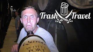 Селфи-палка из бутылки портвейна