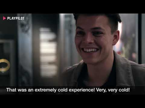 """""""An extremely cold experience!"""" - Alex Høgh Andersen about the hardest days while shooting Vikings"""
