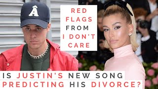 """THE TRUTH BEHIND JUSTIN BIEBER'S SONG """"I DON'T CARE"""": Are He And Hailey Baldwin Headed For Divorce?"""