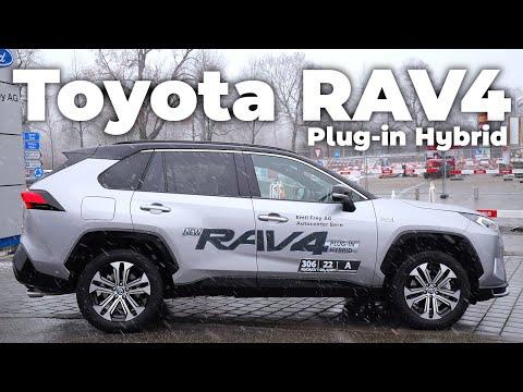 New Toyota RAV4 Plug-in Hybrid 2021 Review Interior Exterior