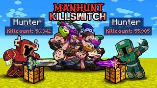 2v2 Manhunt KILLSWITCH! (Speedrunners vs Hunters)