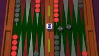 Backgammon Spielregeln - #2 -  Wie man Steine bewegt