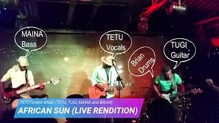 Tetu Shani  AfricaSun (Live At J's)