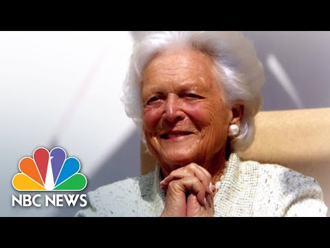 Funeral for former first lady Barbara Bush