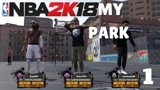 NBA2K18 MY PARK GAMEPLAY LONZO BALL AND ALL STAR WEEKEND