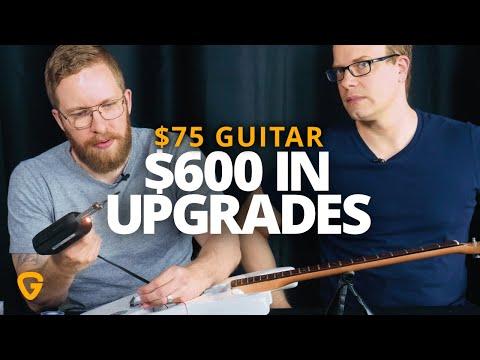 $75 Guitar + $600 Upgrades. Is it worth it?