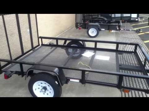 Ready-made trailers from Lowes as a basis for project trailers