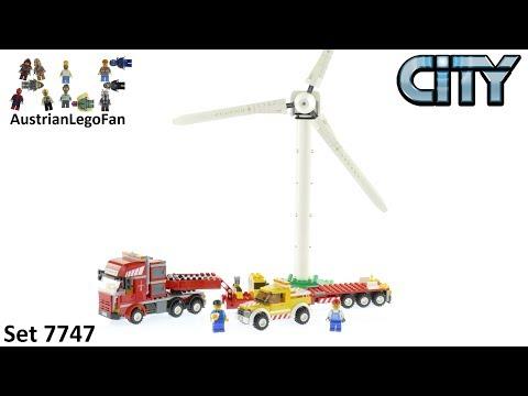 Vidéo LEGO City 7747 : Le transport de l'éolienne