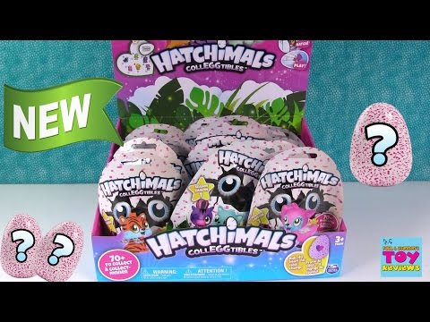 Hatchimals Colleggtibles Blind Bag Full Box Toy Opening Review   PSToyReviews