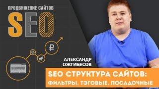 SEO-структура сайтов: фильтры, теговые, посадочные. Александр Ожгибесов