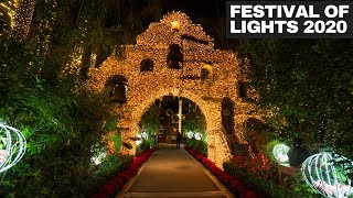 Visiting Mission Inn's Festival of Lights in Riverside in 2020