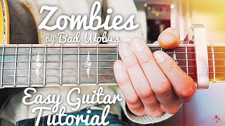 Zombie Bad Wolves Guitar Lesson For Beginners  Zombie Guitar Tutorial  Lesson #434