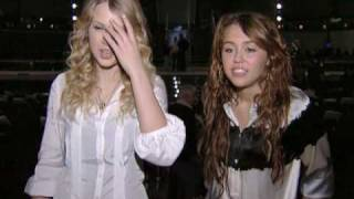 Taylor Swift and Miley Cyrus Interview