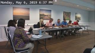 Glynn County Island Planning Commission Work Session May 6, 2019