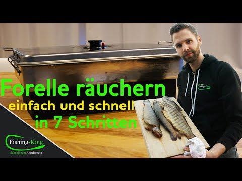 Forellen räuchern mit dem Tischräucherofen |Einfach, Schnell & Lecker👌| Fishing-King.de
