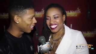 Host Sinita Wells Interviews Empire's Bryshere Gray aka Hakeem Lyon aka Yazz the Greatest