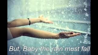 Baby The Rain Must Fall by Glenn Yarbrough--Lyrics