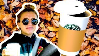I TRIED A PUMPKIN SPICE LATTE