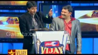 Vairamuthu at Vijay Awards