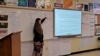 'It meant a lot.' Lancaster names district teacher of year
