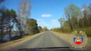 Видео страшного ДТП под Тверью, в котором погиб мотоциклист