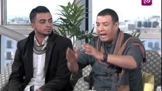 الشاعر هشام الجخ - لقاء مع الشاعر الشاب طارق سلامة - حلوة يا دنيا