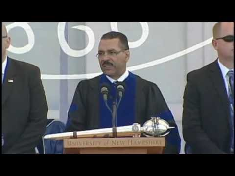 University of New Hampshire Graduations Speech May 2012