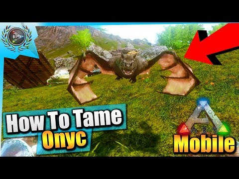 Ark Mobile| How To Tame A Max Level Mosasaur Solo EASY! |iOS