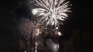 preview picture of video 'Motor City Fireworks Demo Finale May 10, 2014'