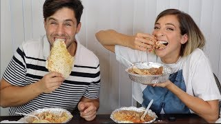 EPIC MEXICAN FOOD MUKBANG ft GABBIE HANNA! (EATING OUR FEELINGS)