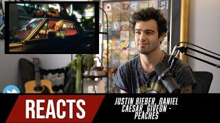 Producer Reacts to Justin Bieber, Daniel Caesar, Giveon - Peaches