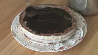 Начинающие повара, Сметанный торт Мишка