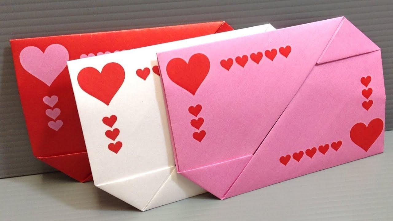 BUSTE GIFT CARD ♥ Busta per Cartoline di Auguri d'Amore ♥ VIDEOTUTORIAL