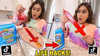 We TESTED Viral TikTok Life Hacks! **THEY ALL WORKED** PART 13