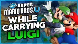Is it possible to beat New Super Mario Bros. U While Carrying Luigi?