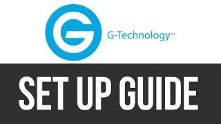 G-Technology G-Drive How To Install / Set Up External Hard Drive on Mac | Manual | Setup Guide