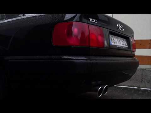 Audi 100 C4 2.3E Supersport ESD | Start, Leerlauf
