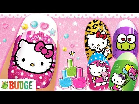 Vídeo do Salão de Beleza Hello Kitty
