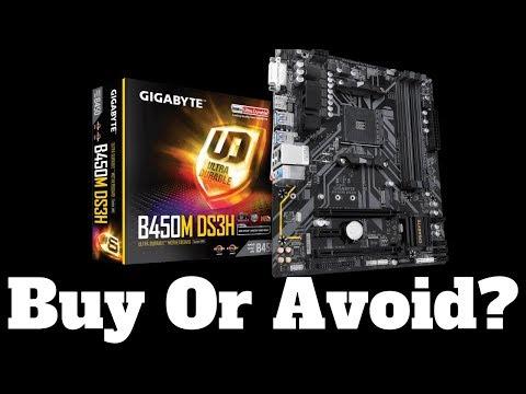 Gigabyte B450M DS3H Motherboard. Buy or Avoid it?